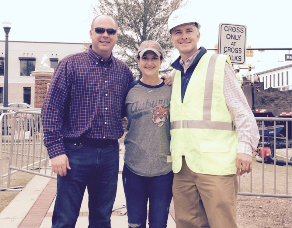 Southerns Scape LLC | Toomer's Corner Tree Installation | Auburn University