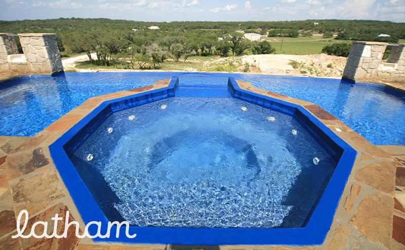 Southern Scape Pools & Spas - design by Latham Pools